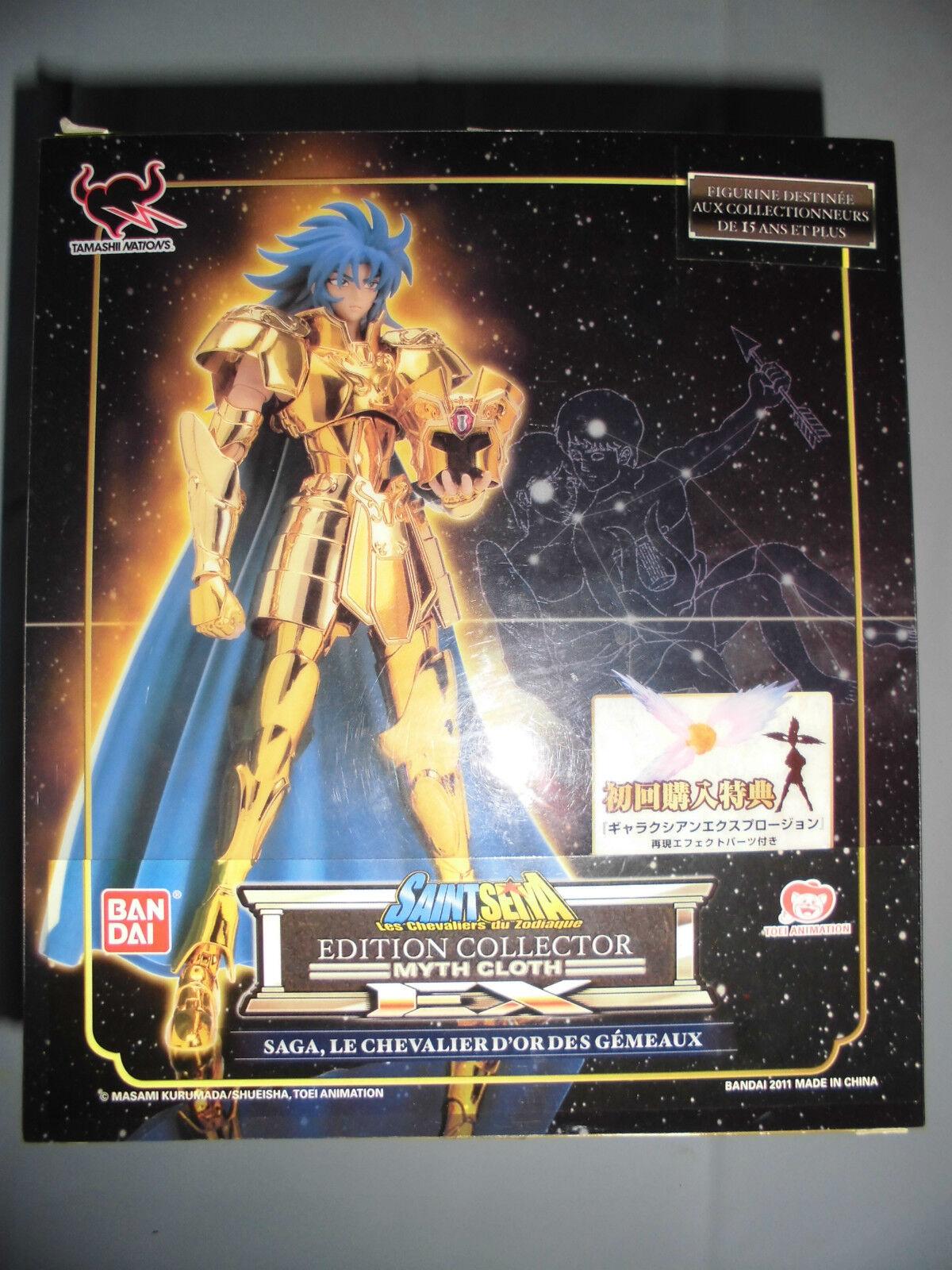 Seiya myth cloth EX Gemini gemeaux Saga Saga Saga galaxian explosion   chevaliers zodiaque a67ac3
