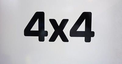 "Jcb ""4x4"" Vinyl Decal For 3cx And 2cx Good For Antipyretic And Throat Soother"