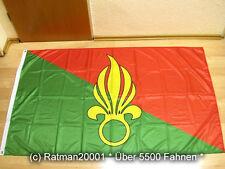 Fahnen Flagge Fremdenlegion Legion Etrangere Frankreich Digitaldruck - 90x150 cm