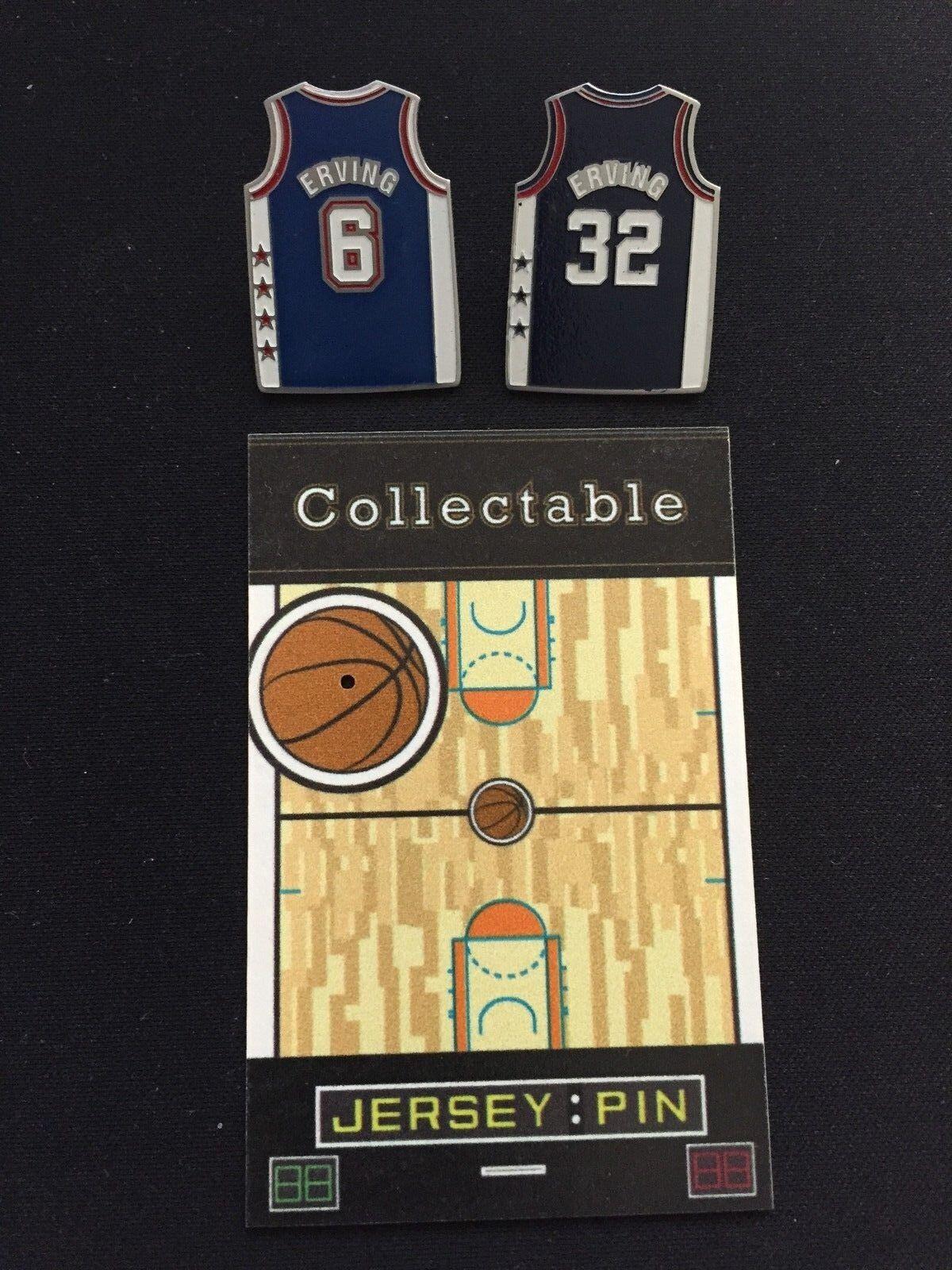 Philadelphia 76ers   New York Nets Nets Nets Reversnadel Julius Erving-  1 Best b73c3e