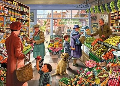NEW! Gibsons An Apple a Day by Steve Crisp 1000 piece nostalgic jigsaw puzzle