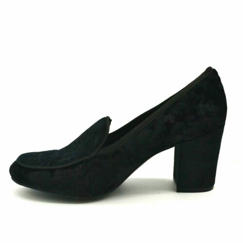 Details about  /New York Transit Womens New Way Plush Velvet Loafer US Size 9M Black New