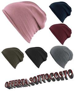 Caricamento dell immagine in corso Cappello-Cuffia-Uomo-Donna-100-Cotone- Leggero-Oversize- a55363181bc4