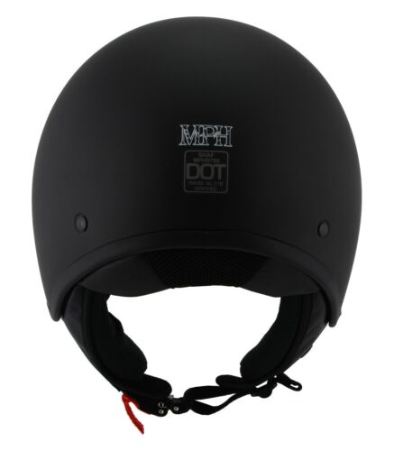 Milwaukee Performance MPH Accelerator Open Face Black Helmet  **MPH9700DOT