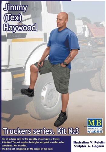 Haywood Figur in 1:24 Jimmy MASTER BOX™ 24043 Truckers Series Tex
