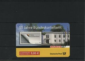 Germany-BRD-Federal-Stamp-Booklet-MH-72-Postmarked-Used-More-See-Shop