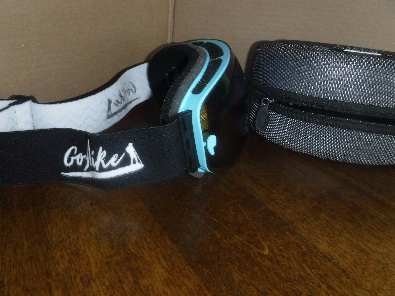 GoHike Ski Goggles-Unisex Snow Goggles with UV Predection and Anti-Scratch