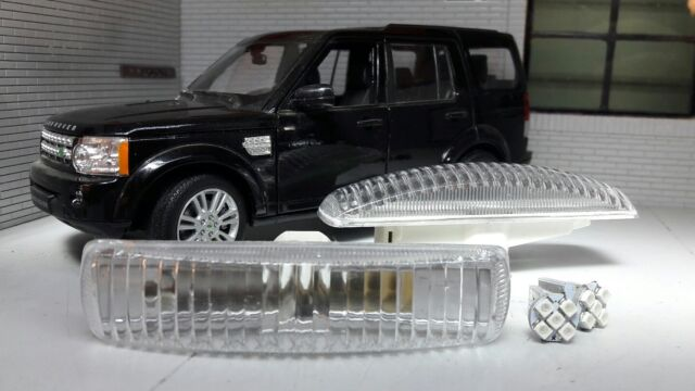 LED Land Range Rover Sport Discovery 3 4 LR007954 Clear Wing Indicator Repeaters