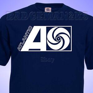 ATLANTIC-RECORDs-MENS-T-shirt-NORTHERN-Soul-JAZZ-Music-Retro-Cotton