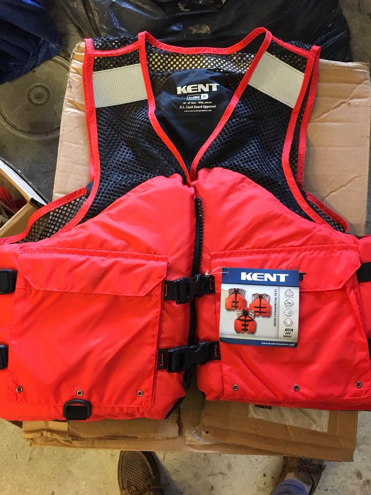Kent Mesh Deluxe Commercial Vest X Large New