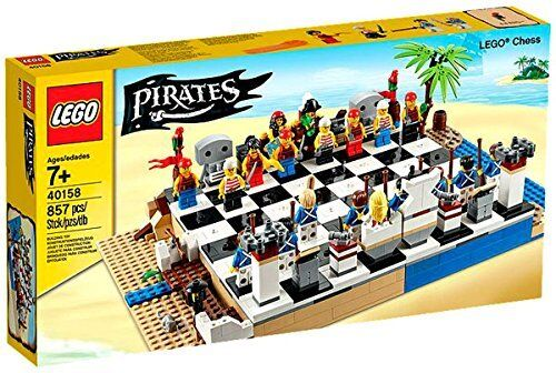 LEGO® 40158 Pirates Piraten-Schachspiel Neu Neu Neu OVP New sealed 04f3ed