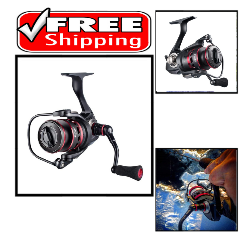 Piscifun Honor Spinning Reel Lightweight Ultra Smooth Powerful Spinning Comfort