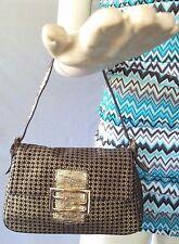 Fendi Monogram Mini Pochette Handbag