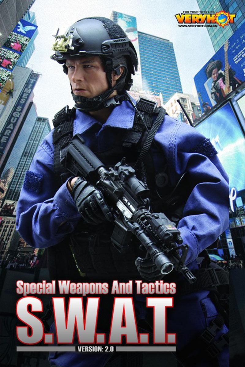 1 6 Action Figure Figure Figure VH 1026 VERYHOT noi SWAT SPECIAL ARMI E TATTICHE Set 2.0 050724
