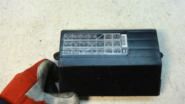 2002 Honda Goldwing GL1800 GL 1800 H1204. large fuse box panel cover | eBayeBay