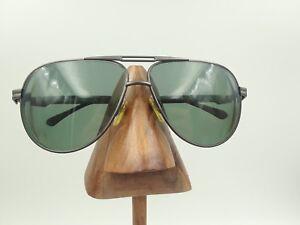e18147f238e Vintage Sergio Tacchini ST1034-S T829-S Gunmetal Aviator Sunglasses ...
