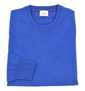newest collection 22662 b2b5b Dettagli su PEUTEREY uomo maglia pullover girocollo blu indaco OROYA PPT 02  149