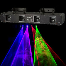 FREE SHIPPING 4 Lens 760mW BPRG Blue Purple Red Green Laser Light DJ DISCO SHINP
