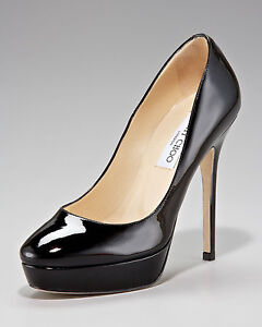7722b09f2e40 Image is loading Jimmy-Choo-039-Cosmic-039-Platform-Pump-Size-
