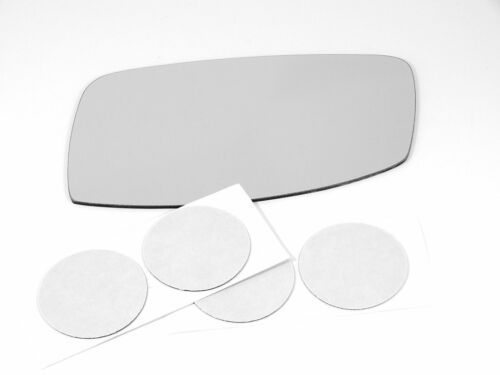 Fits 00-06 Linc LS Left Driver Mirror Glass Lens  non heat direct fit over w//Adh