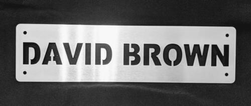 Dexta Tool Box Plate Fergie Fordson Major International IH David Brown