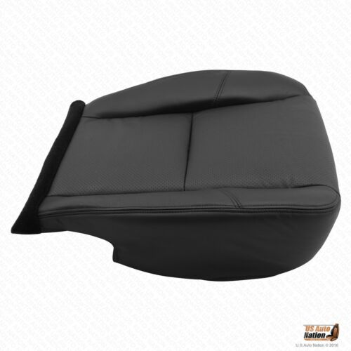 2013 2014 Cadillac Escalade Driver Side Bottom Leather Seat Cover Color Black