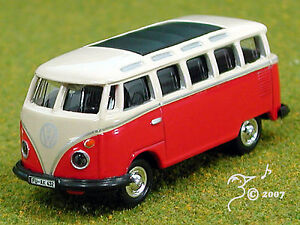 Die-Cast-VW-Bus-by-Model-Power-HO-Scale-1-87-by-Model-Power