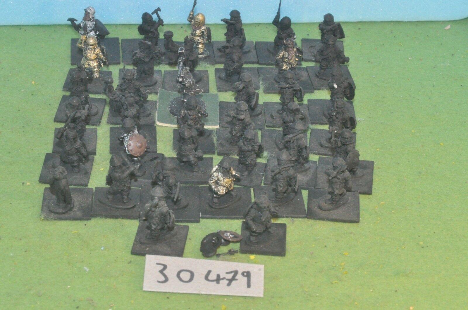 Warhammer fantasy sigmar order 38 dwarf warriors metal old edition oop (30479)