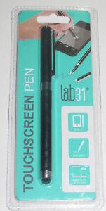 Stylet-Noir-14-cm-Accessoire-Smartphone-amp-Tablette-TOUCHSCREEN-PEN-NEUF