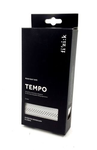 Silver Fizik Tempo Classic Road Bike Bar Tape Microtex Bondcush 3mm