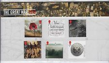 2016 Royal Mail The Great War 1916 Stamps in Presentation Pack no. 527 Reprint