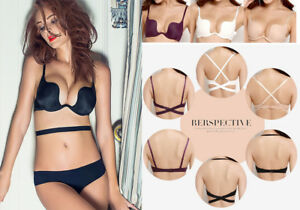 super cute sports shoes save off Details about SEXY STRAPLESS MULTIWAY EXTREME PUSH UP BRA BACKLESS  HALTERNECK BALCONY BRA