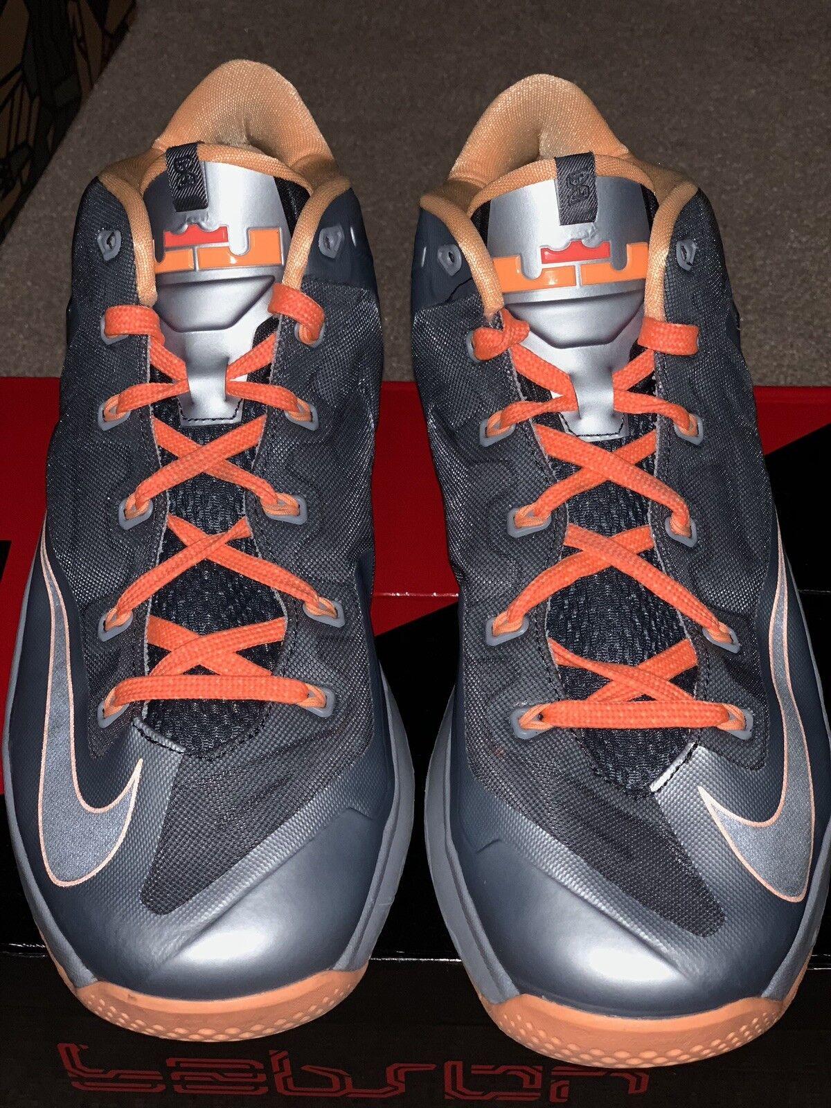 Nike Lebron Lebron Nike 11 Low Pre lava Uomo Size 11.5 Pre Low Owned af393e   3cbc2a
