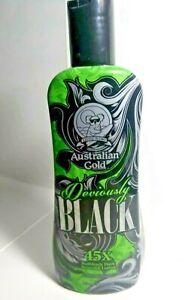 AUSTRALIAN GOLD Deviously BLACK 45X  RUTHLESSLY DARK BRONZING LOTION 250ML