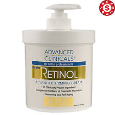 Retinol Professional Firming Cream Spa 16 oz Anti Age Face Skin Wrinkles Remover