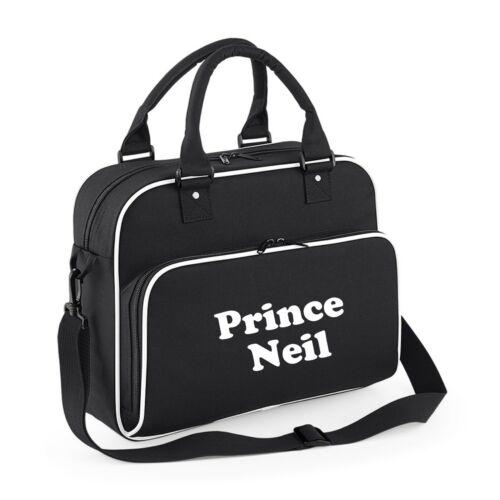 Personalised Prince Princess Baby Name Storage Bag Changing Bag Child School