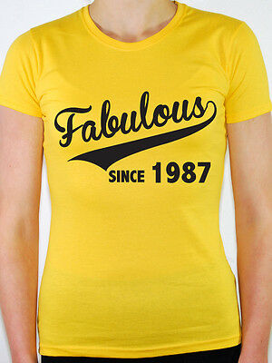 WOMENS LadyFit Royal XXL Cheap Funny Gift Made in 1983