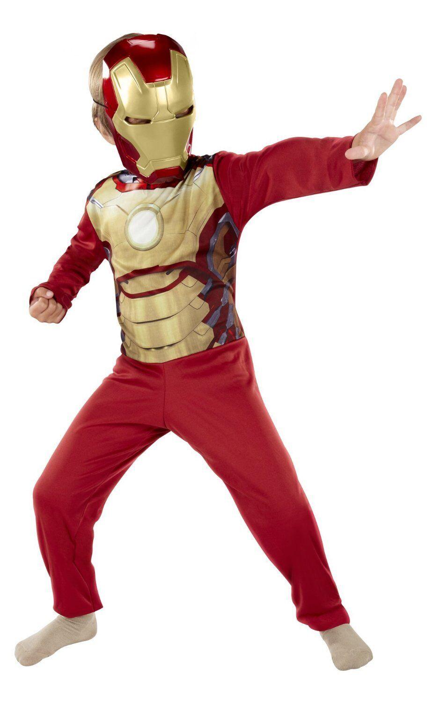 Iron Man 3 Boy Polyester Outfit Set T-Shirt+Shorts Size 4-8 age 3-8