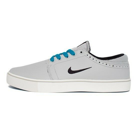 Nike SB TEAM EDITION Strata Grey Black Neo Turquoise Sail Price reduction Price reduction Men's Shoes