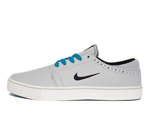Nike SB TEAM EDITION Strata Grey Black Neo Turquoise Sail (D) (234) Men's Shoes