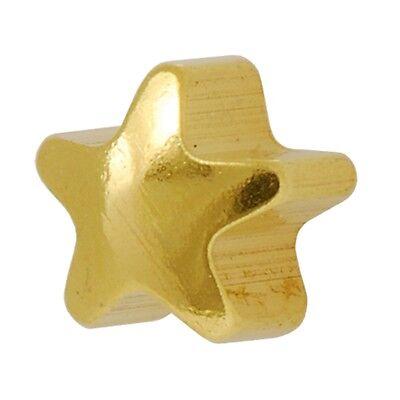 Studex Ear Piercing Mini Gold Plated Shaped Plain Stud Earrings 2mm Heart / Star