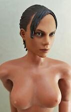 1/6 Hot Toys Sheva Alomar Phicen Body & Head Sculpt Jill Valentine Black Widow 5