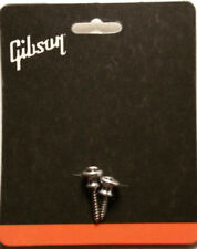 Gibson Aluminum Metal Strap Buttons Set Les Paul Guitar New Genuine Made in USA