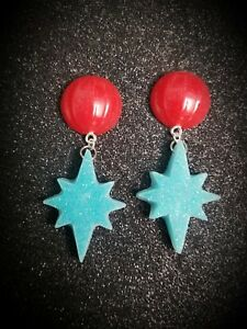Red Starburst Pasties