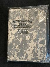 Us Army National Guard Binder Folder Portfolio Digital Camo Notepad New