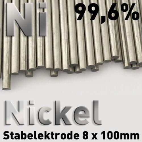 Galvanik Sparpaket 5 Stab-Anoden Elektroden Graphit Kupfer Nickel Zink 8 x 100mm