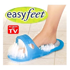 EASY FEET YOU GET As Seen on TV- Shower Foot Wash Scrubber Brush Massages BEST .