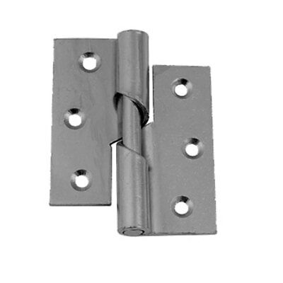 Right Hand Rising Butt Hinge 75mm Butt Hinges Quantity 2 Heavy Duty