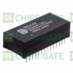 2PCS-NEW-DS1225AB-200-Manu-DALLAS-Encapsulation-DIP-28-64k-Nonvolatile-SRAM