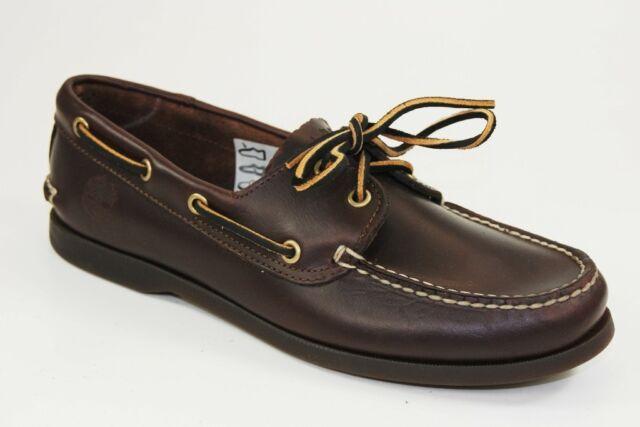 Timberland Zapatos De Vela Classic 2-eye Barco Del Mocasines 68546